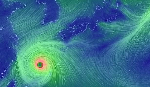 猛威をふるっている台風にはお気を付け下さい!!