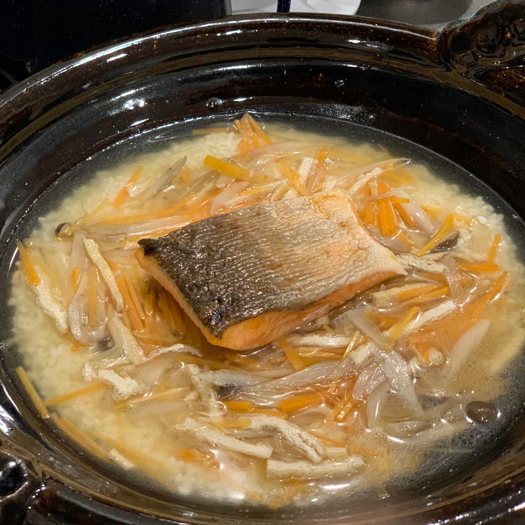 琵琶ますの炊き込みご飯