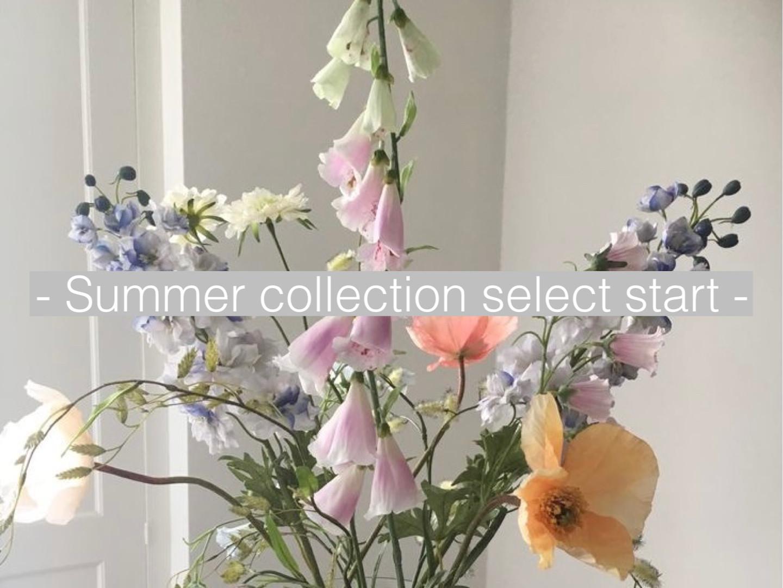 【新作入荷】Summer collection お取り扱いスタート♡