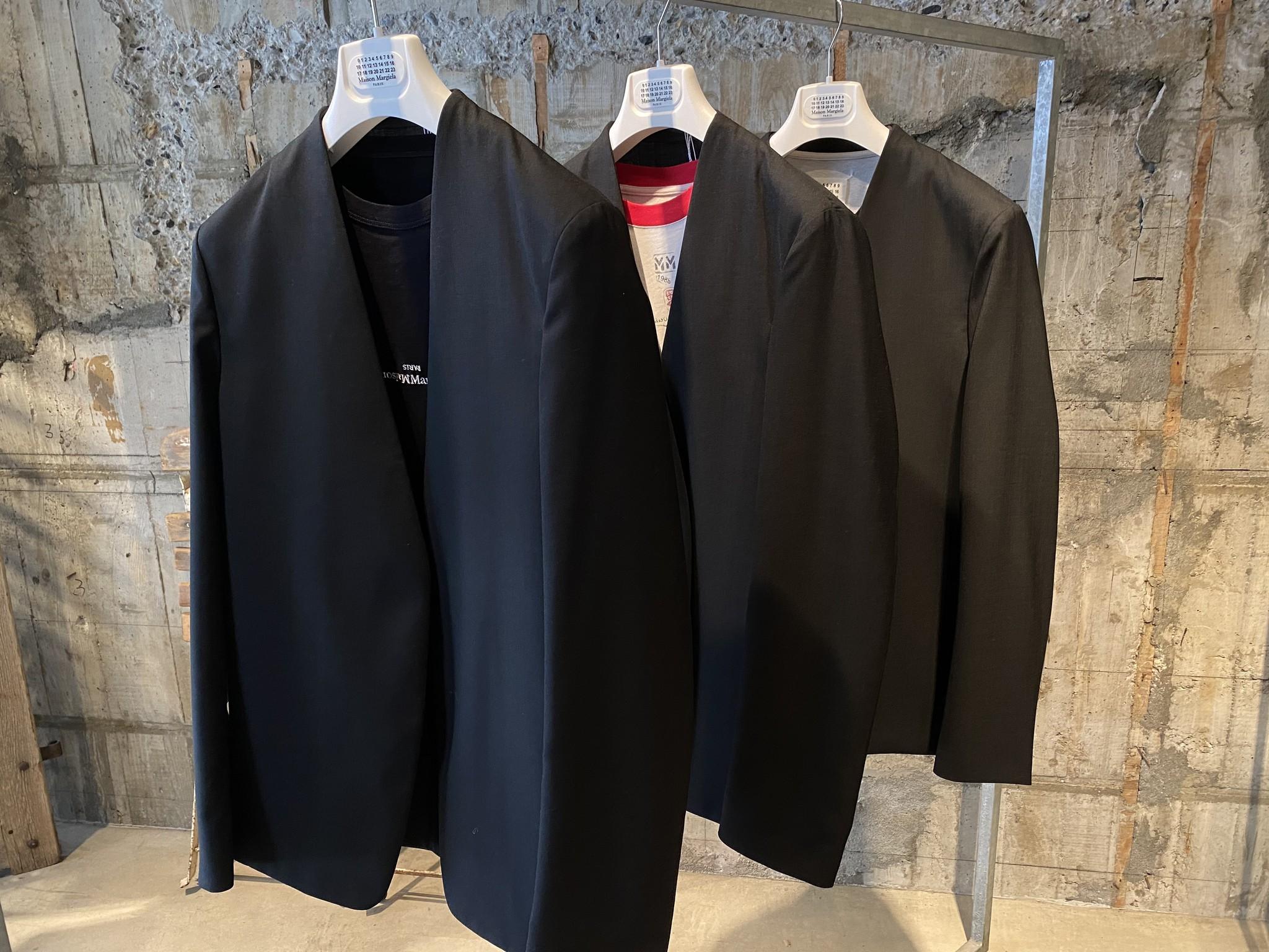 『Maison Margiela/メゾン・マルジェラ』21SSノーカラージャケット入荷致しました