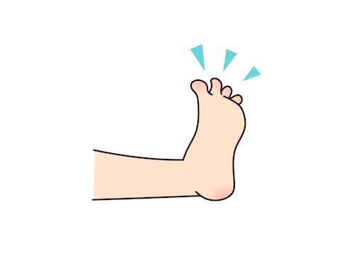 足冷えに効果のある足の指体操