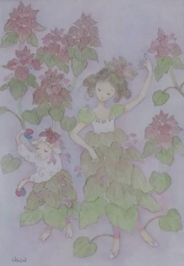 千砂「季節の絵」3月
