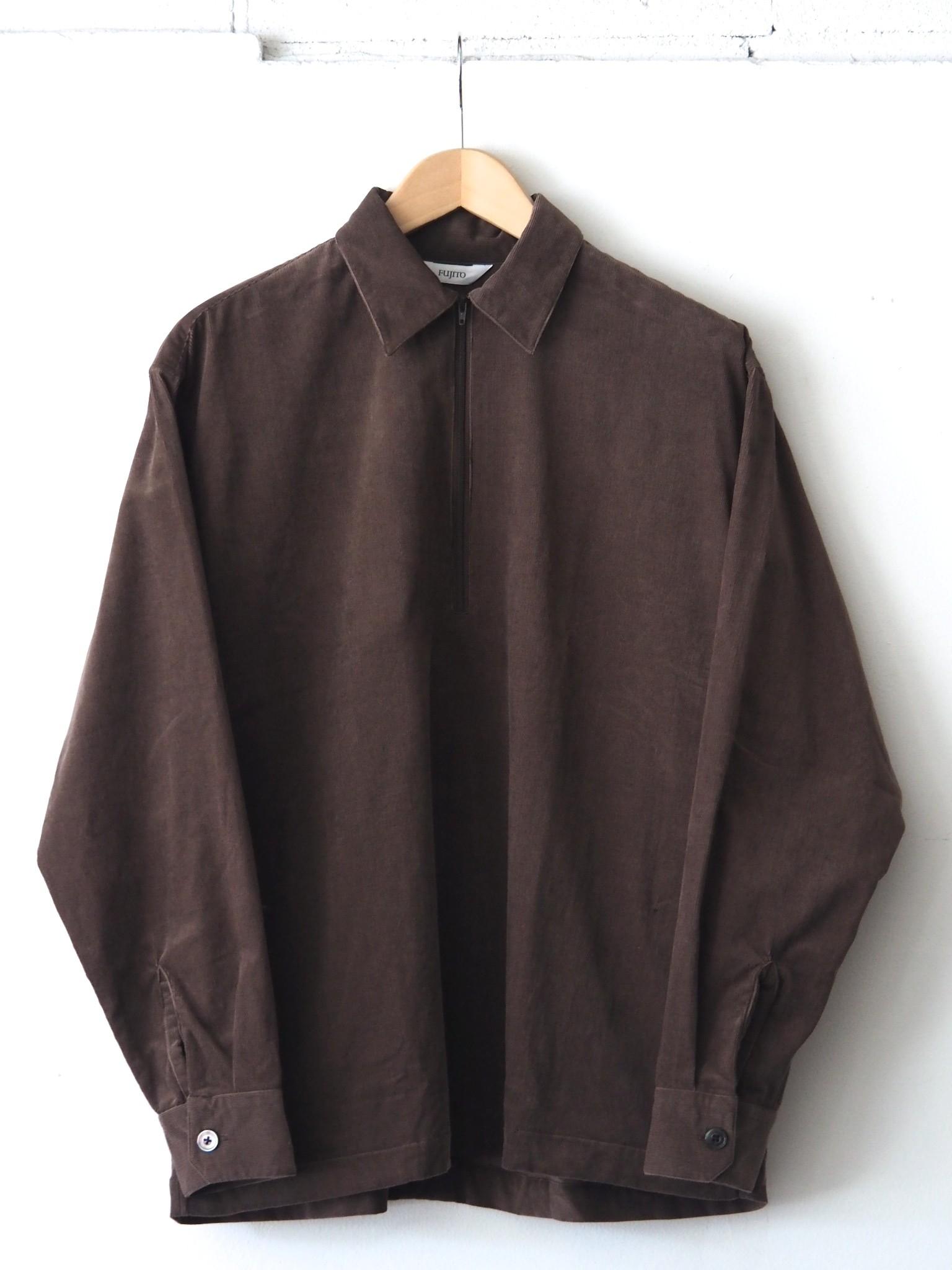 FUJITO Half Zip Shirtのご紹介です