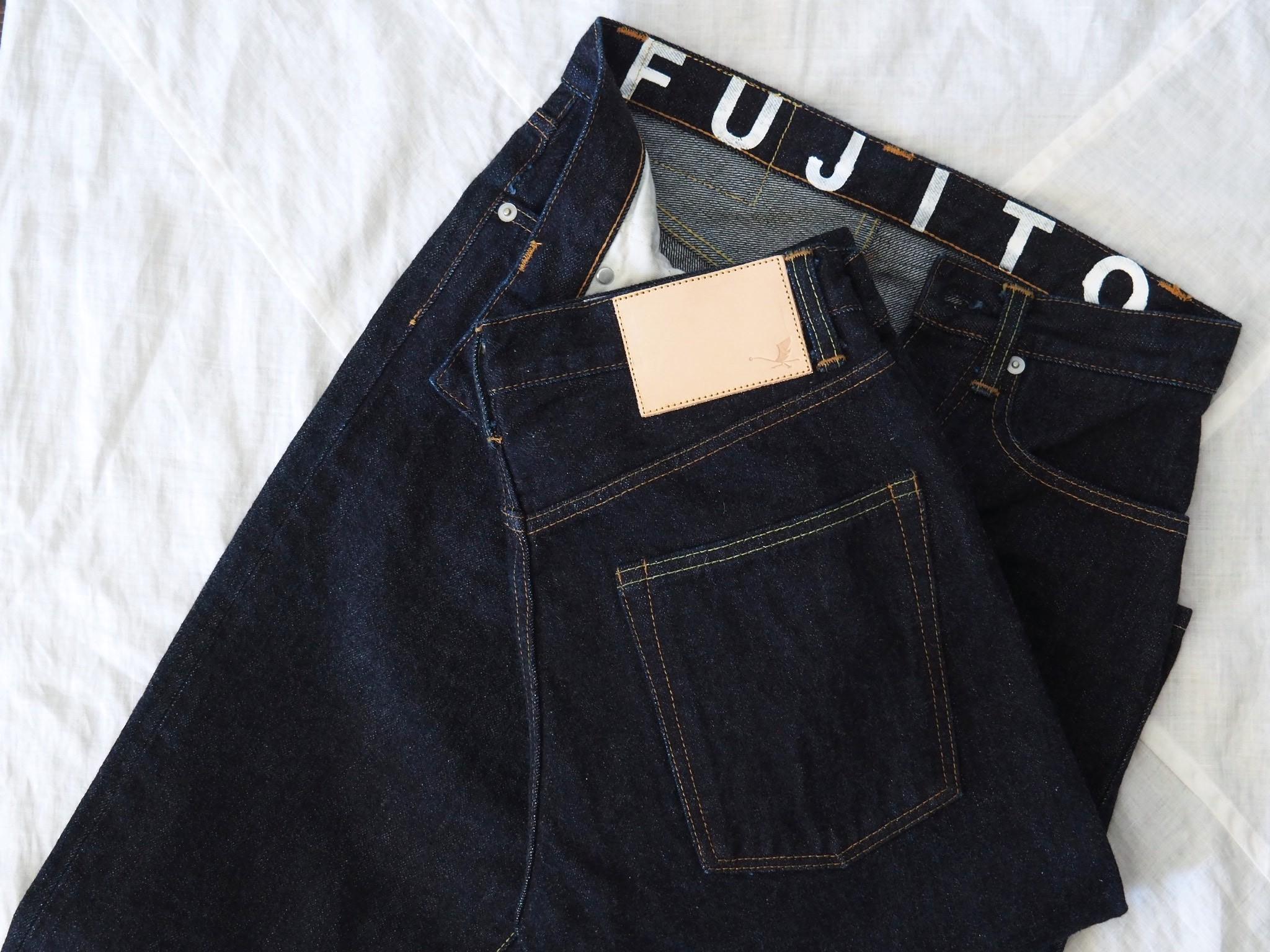 FUJITO Denim Jeansが入荷しました