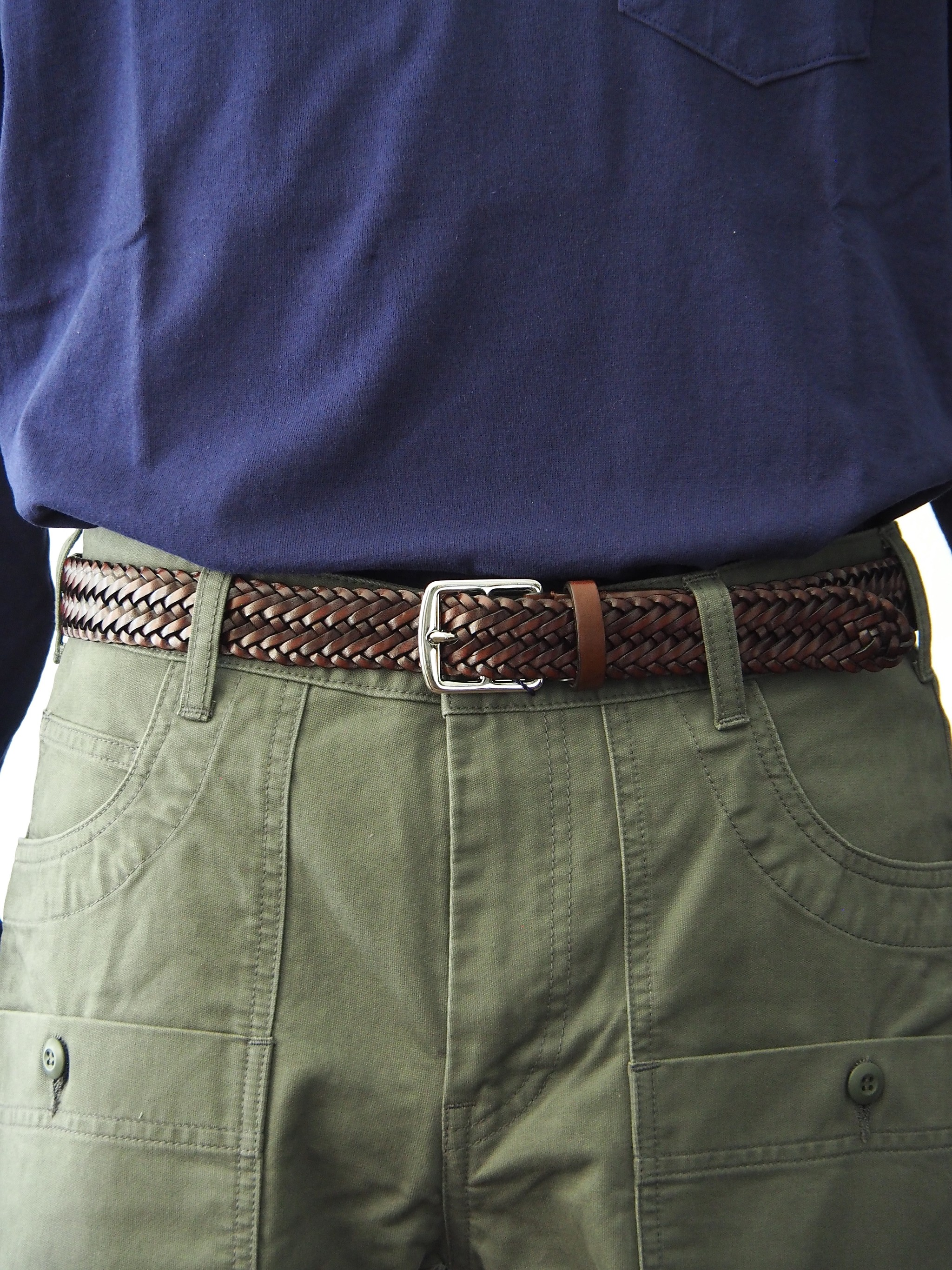 Anderson's Leather Mesh Belt Directors別注をご紹介します