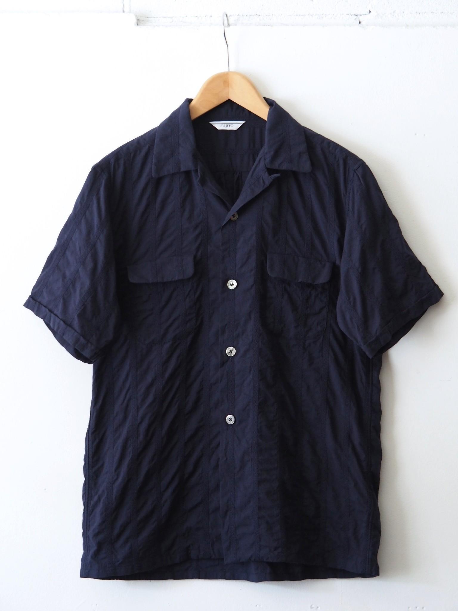 FUJITO H/S Open Collar Shirt 'Directors限定'のご紹介です