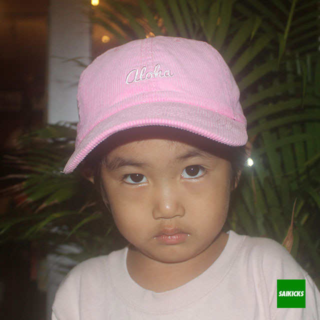 SAIKICKS ALOHA CORDUROY CAP