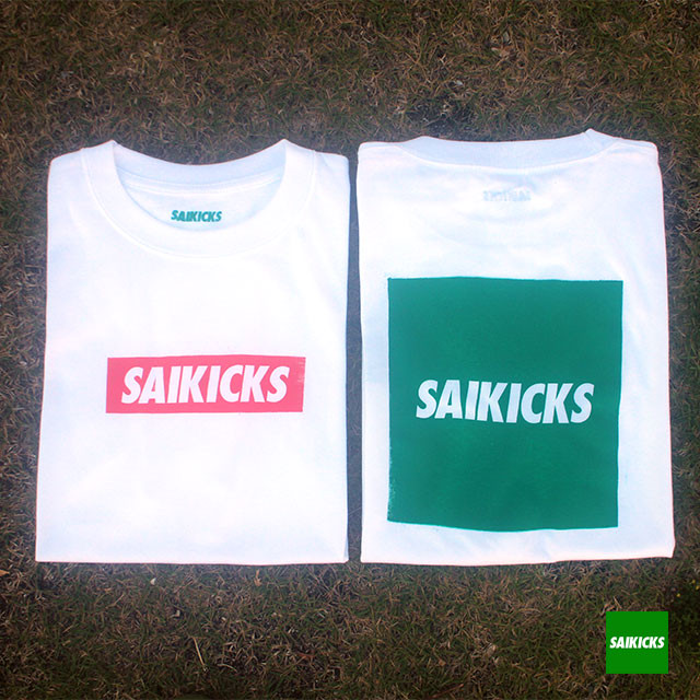 SAIKICKS BOX & SQUARE LOGO TSH