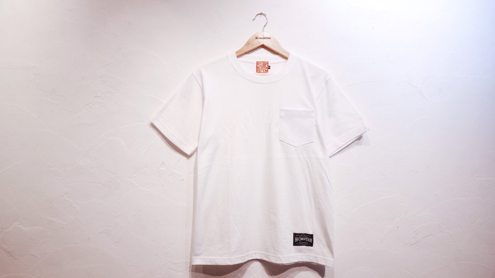 WHITE POCKET Tee & BASIC WHITE Tee