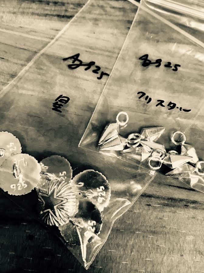 Stella Bracelet / Crystal Anklet 製作