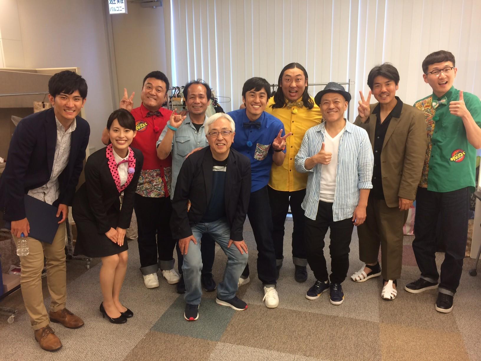 山崎さん、ロバートさん収録ありがとうございました。
