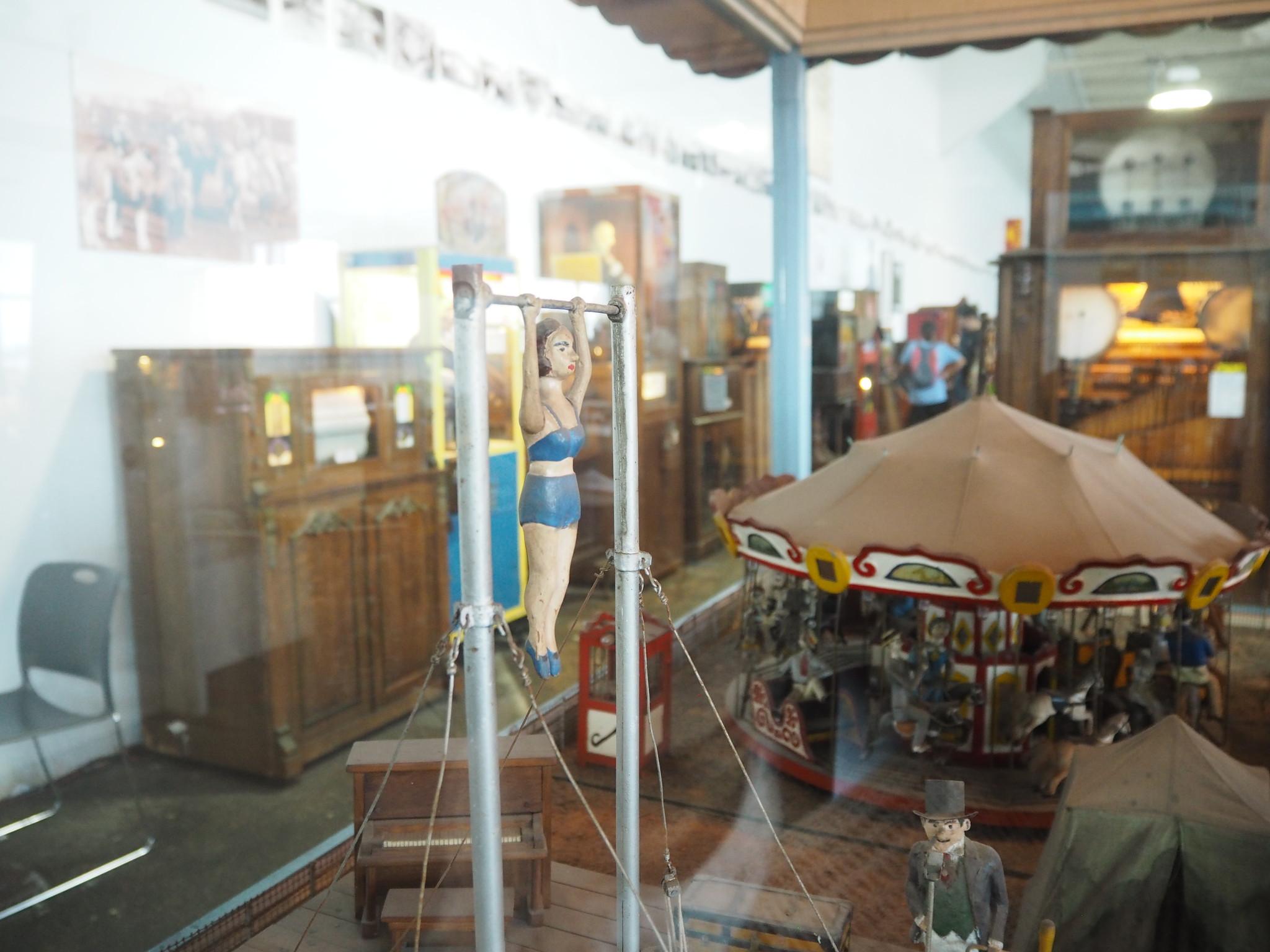 サンフランシスコの「Musée Mécanique」