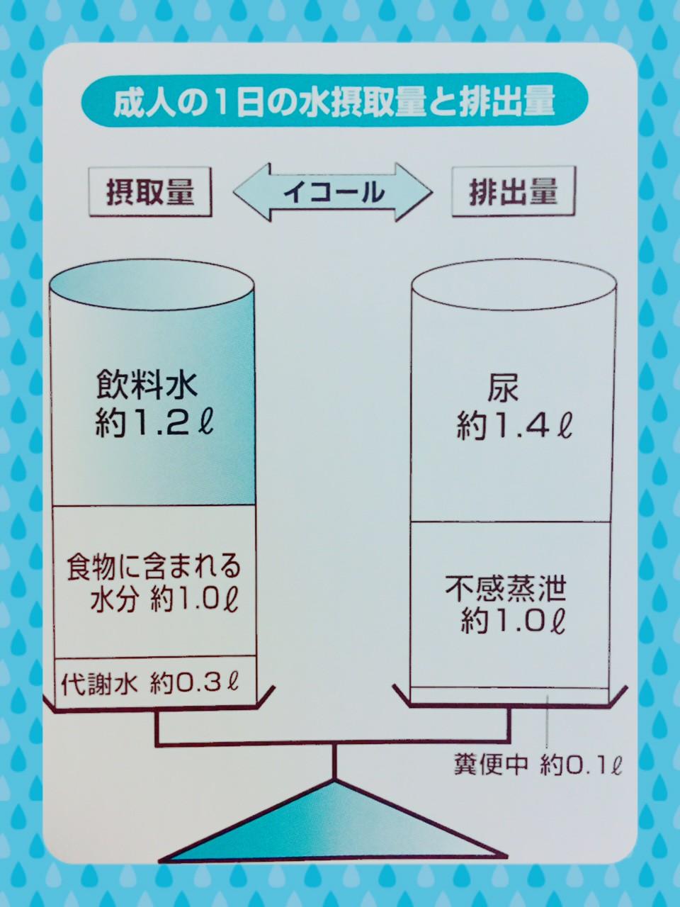 水分補給と効果的な水の飲み方