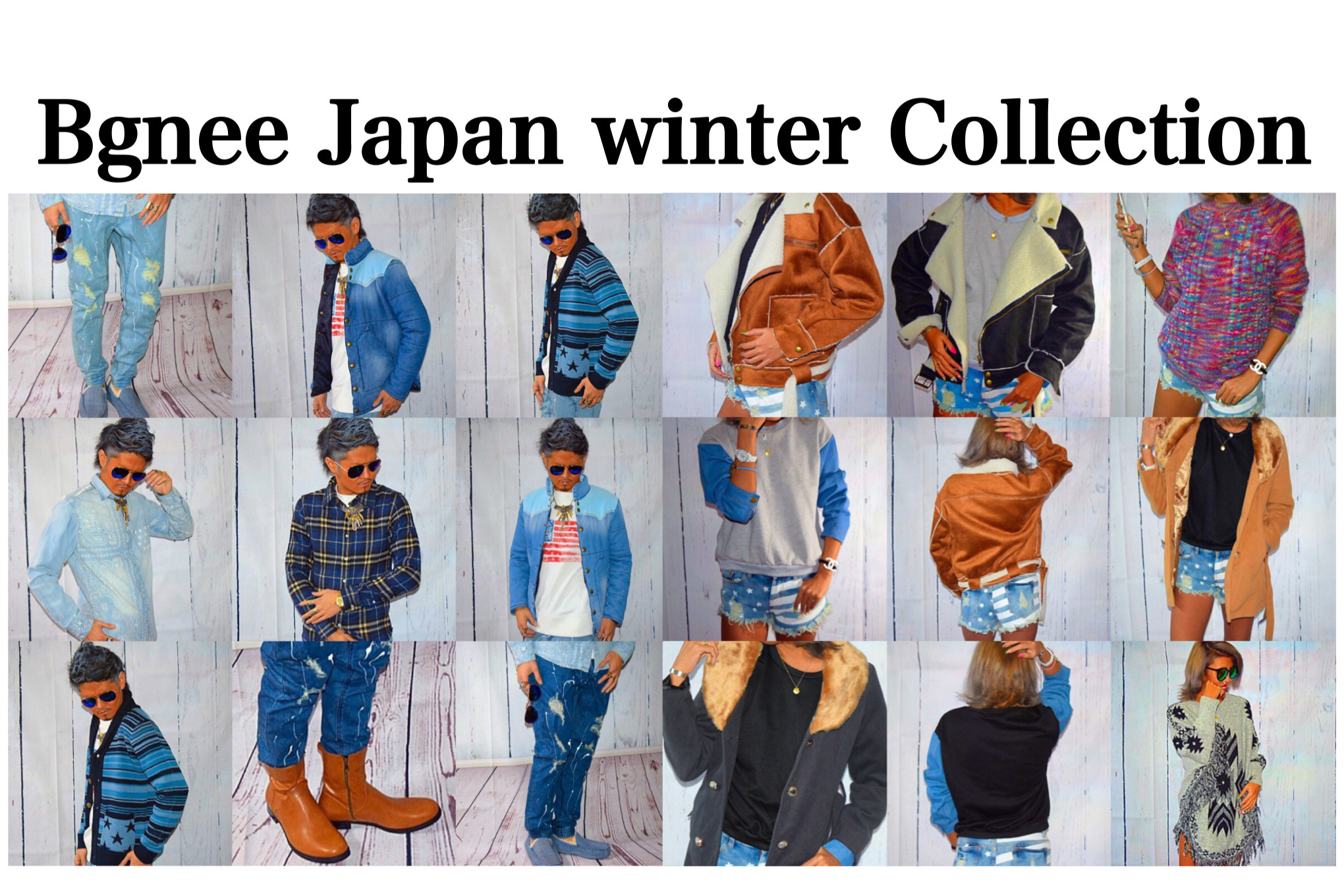BgneeJapan新作winter Collection販売開始