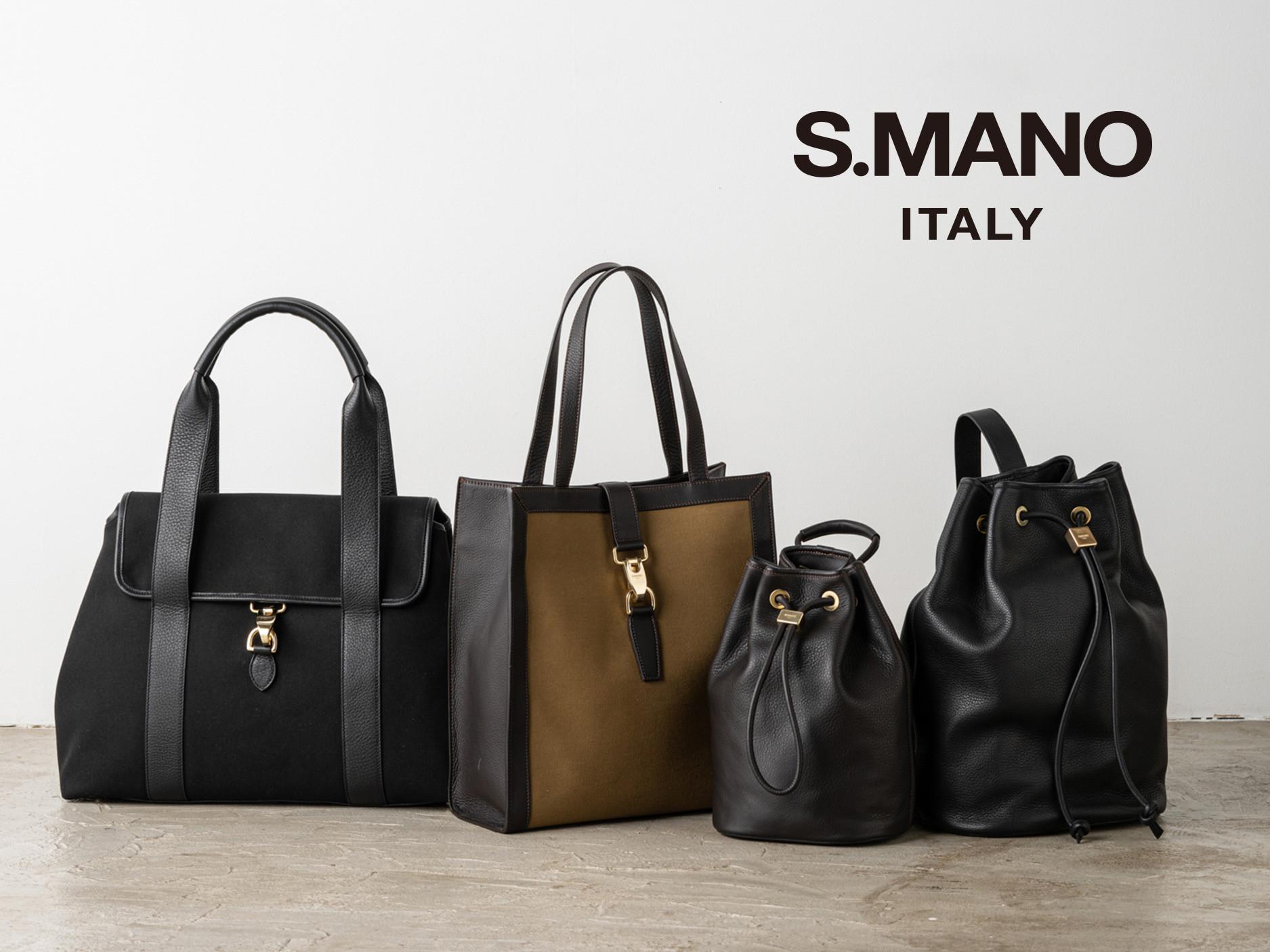 新ブランド「S.MANO」の展開がスタートしました