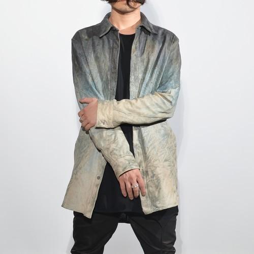 【レザースパイラルシャツ】定番のBLACK フレッシュなStone Mixture  入荷!!