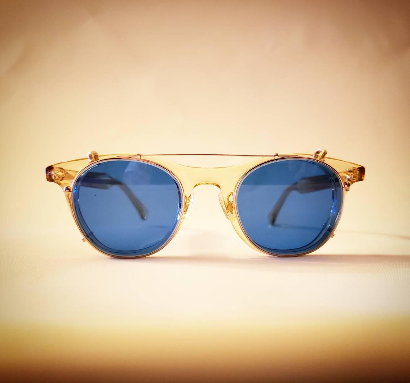 白山眼鏡オーバーグラス