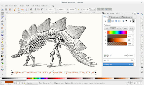 デザインに興味ある人必見!イラストレーター互換ソフトのインクスケープをLinux搭載PCで活用!