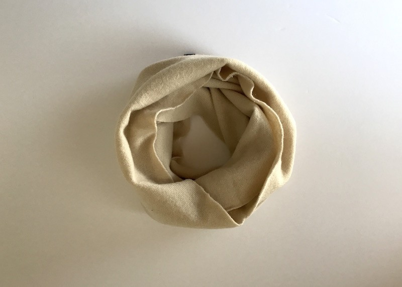 Pure cashmere snood