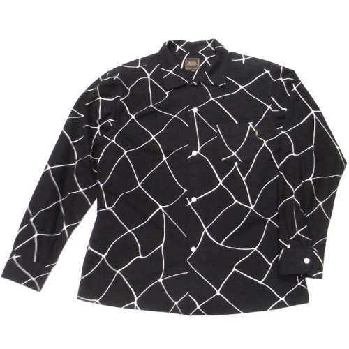 RATS 18AW SPIDERWEB PRINT FLANNEL SHIRT発売開始