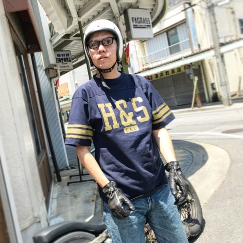 HIDEANDSEEK 18SS FOOTBALL S/S SHIRT発売開始