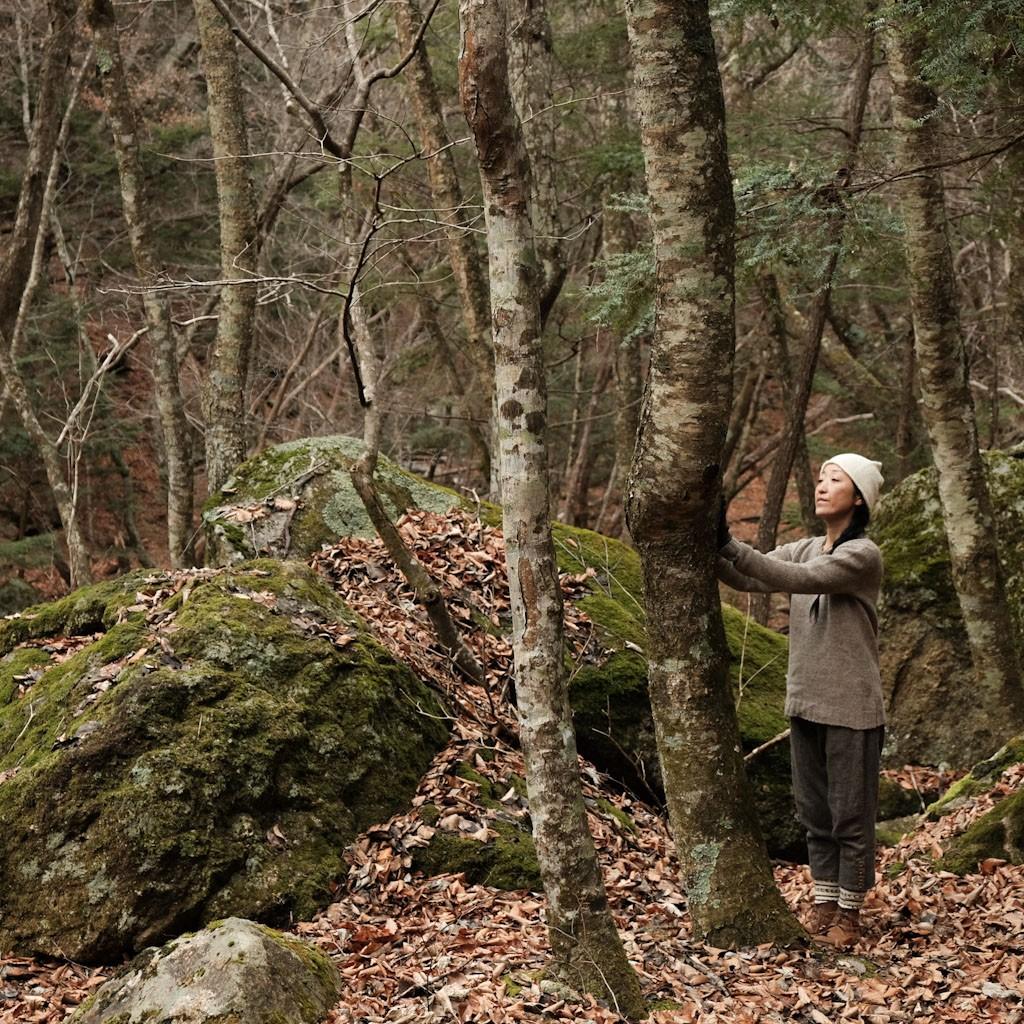 BIG HUGのポルトガルウールと、冬の増富。羊まといて、心静か。