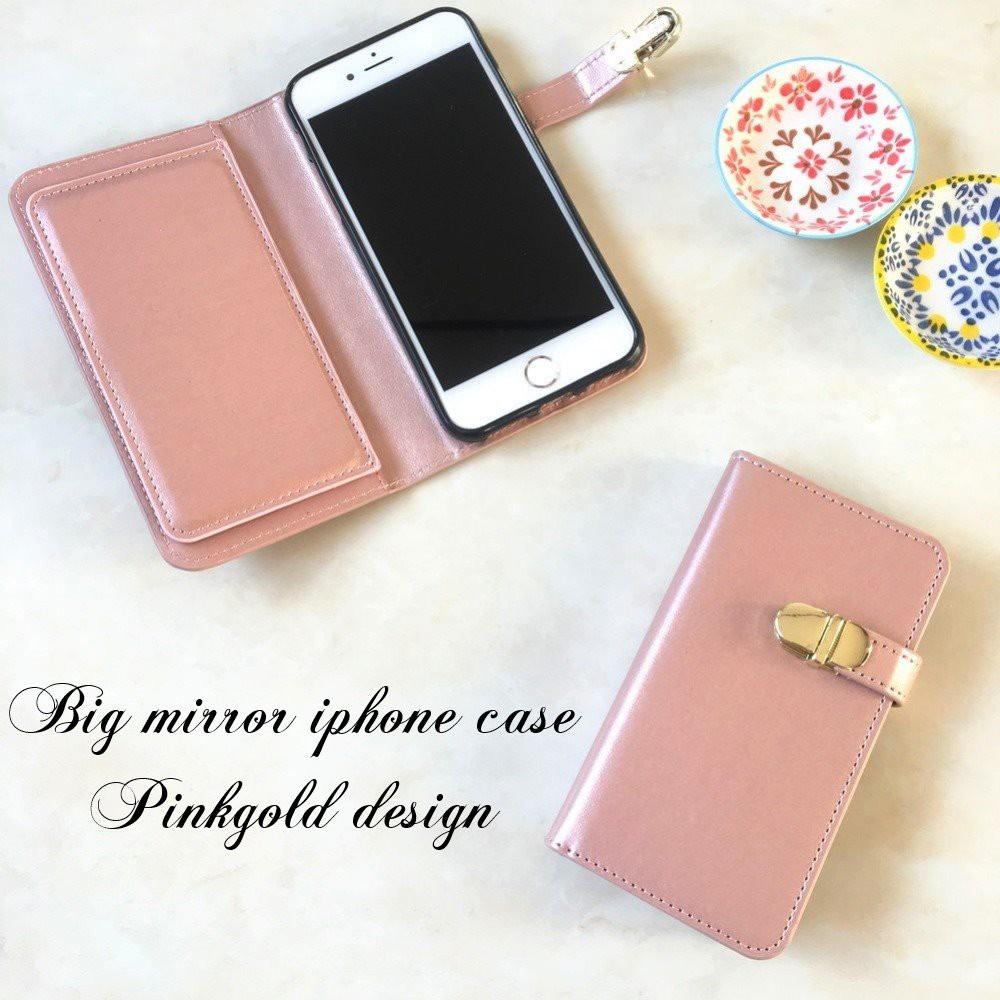 ☆2018年新作☆大人可愛い上品なゴールドパーツ 手帳型iphoneケース♪