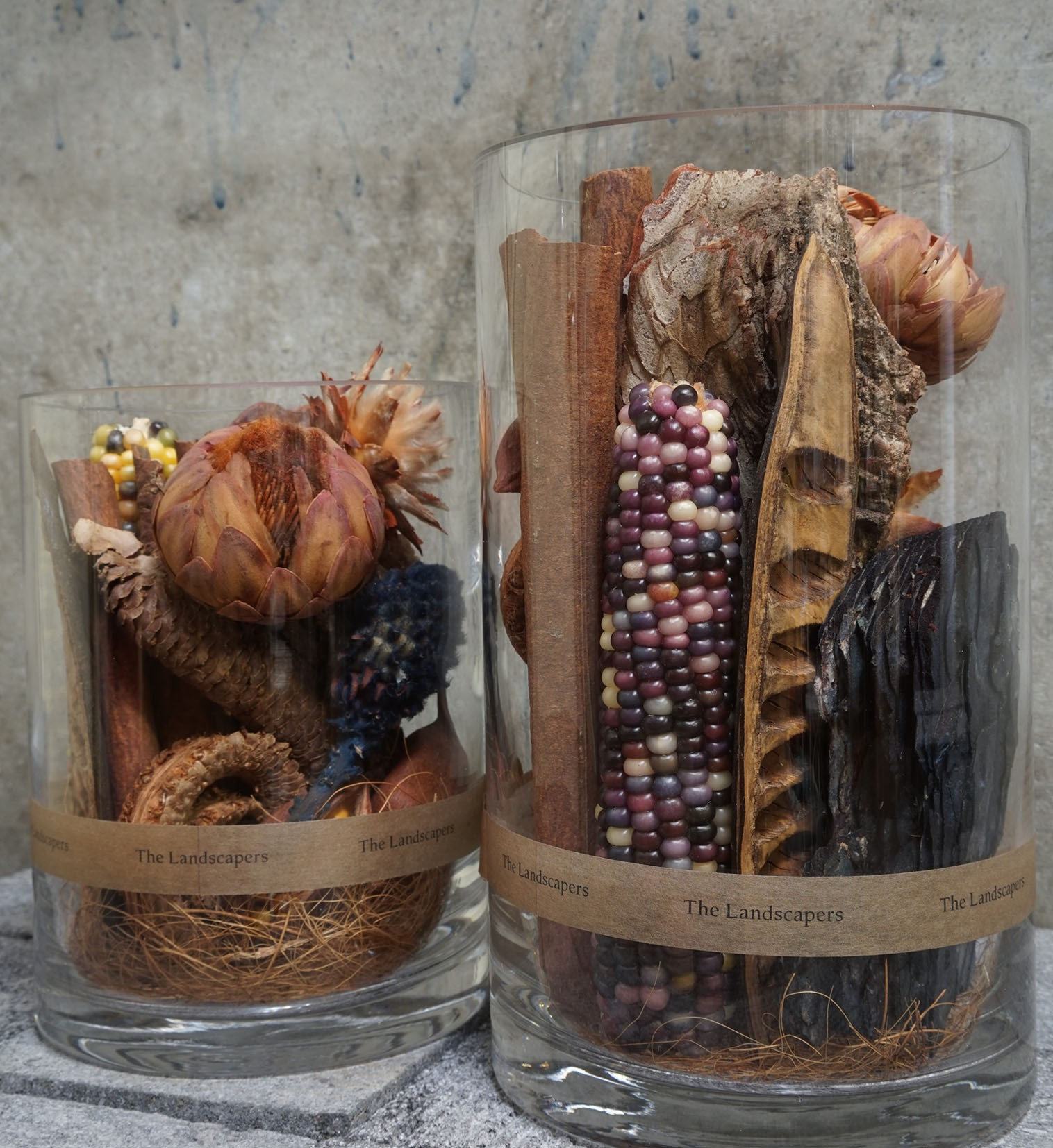 DRY CYLINDER -Natural materials-
