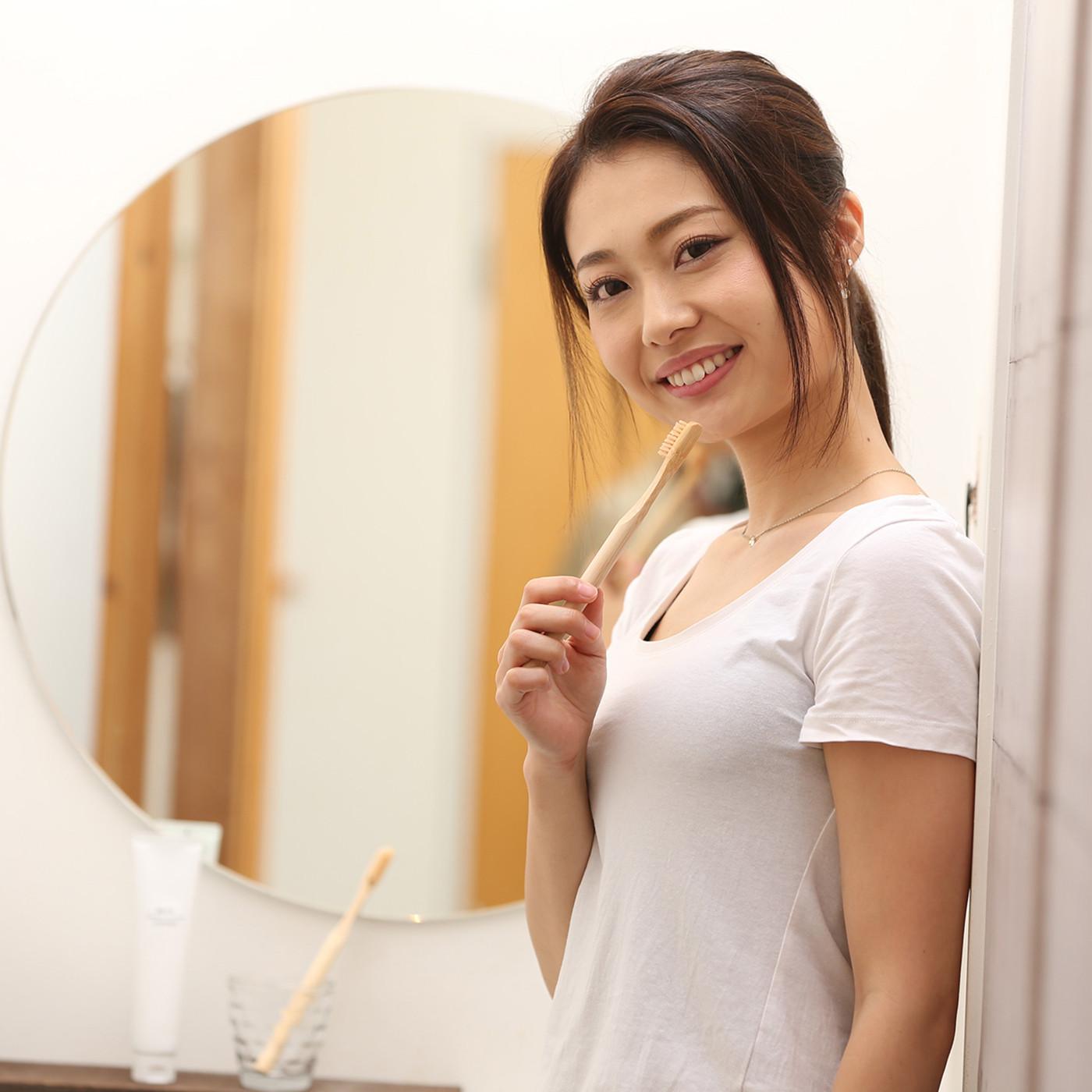 竹歯ブラシ『 BAMBOO TOOTHBRUSH シリーズ』 イメージモデルのご紹介