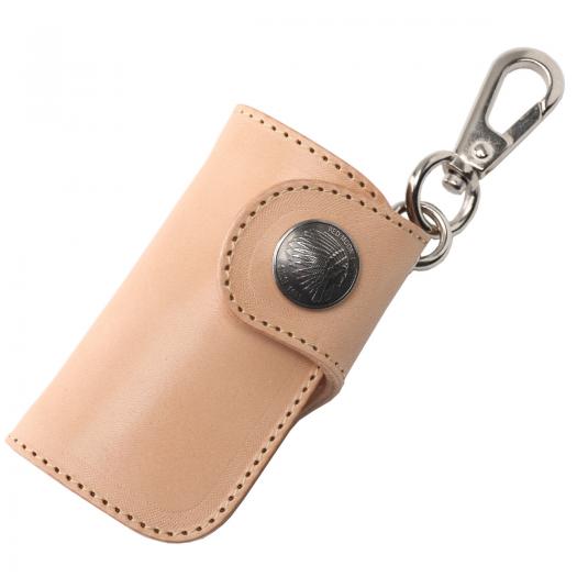 人気のバイカーズウォレットデザインをミニにしちゃいました♡使いやすいレザーキーケース!