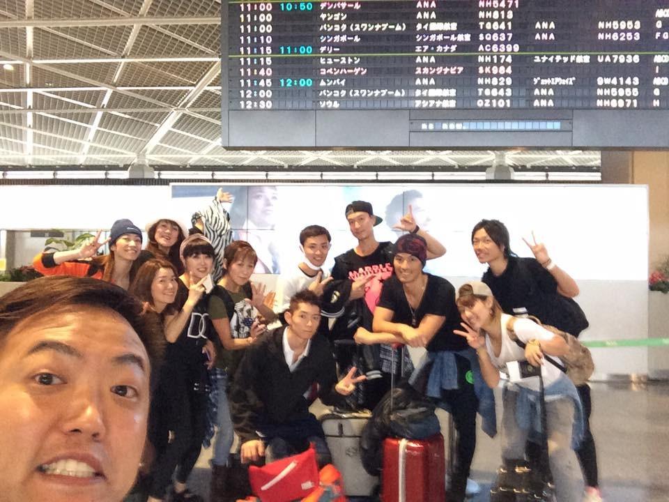 いざ、台湾へ!!