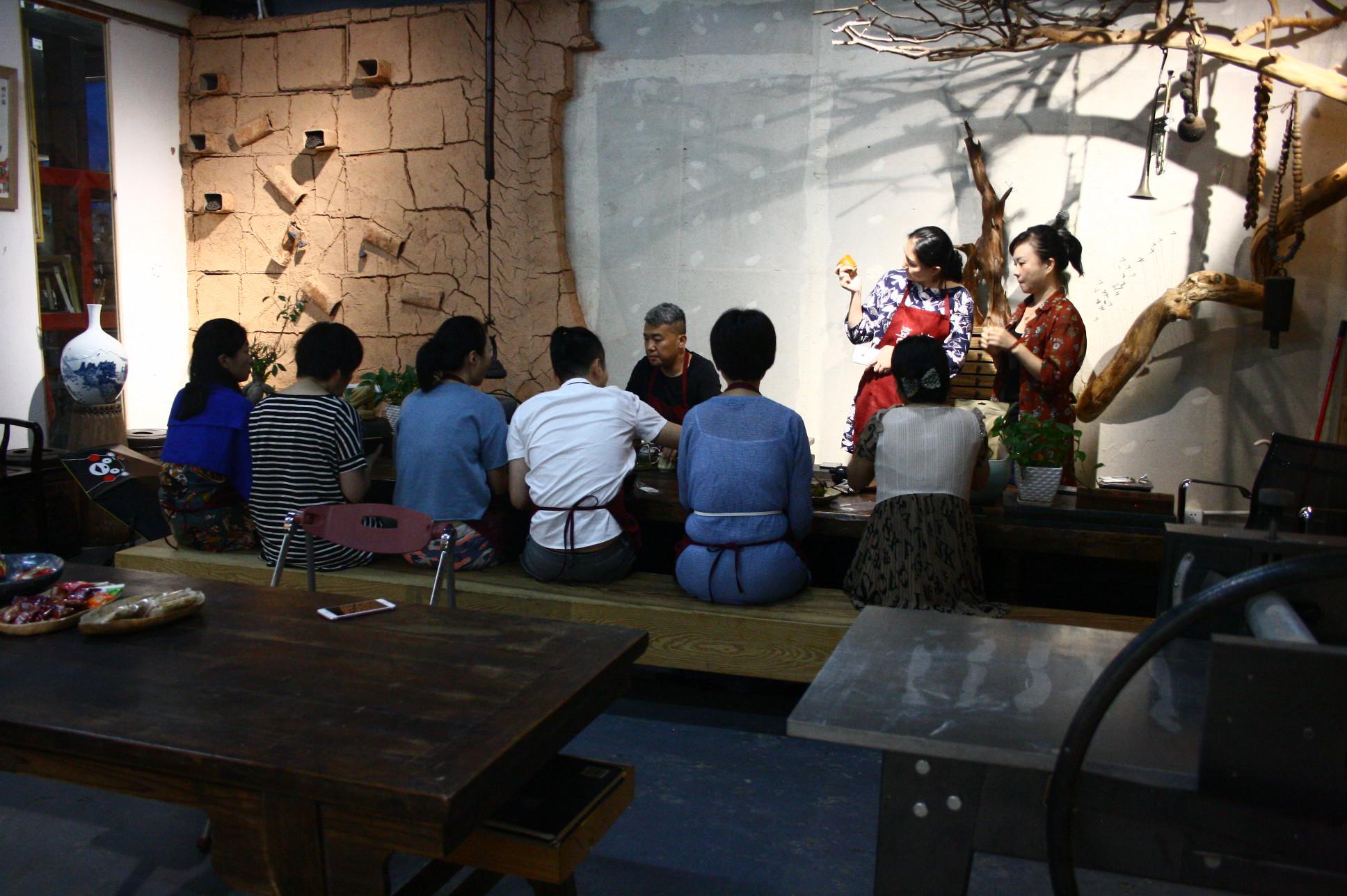 中国 深圳の陶芸教室 2