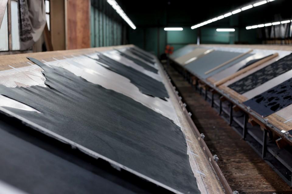 『和紙』シリーズ 加工工場の風景