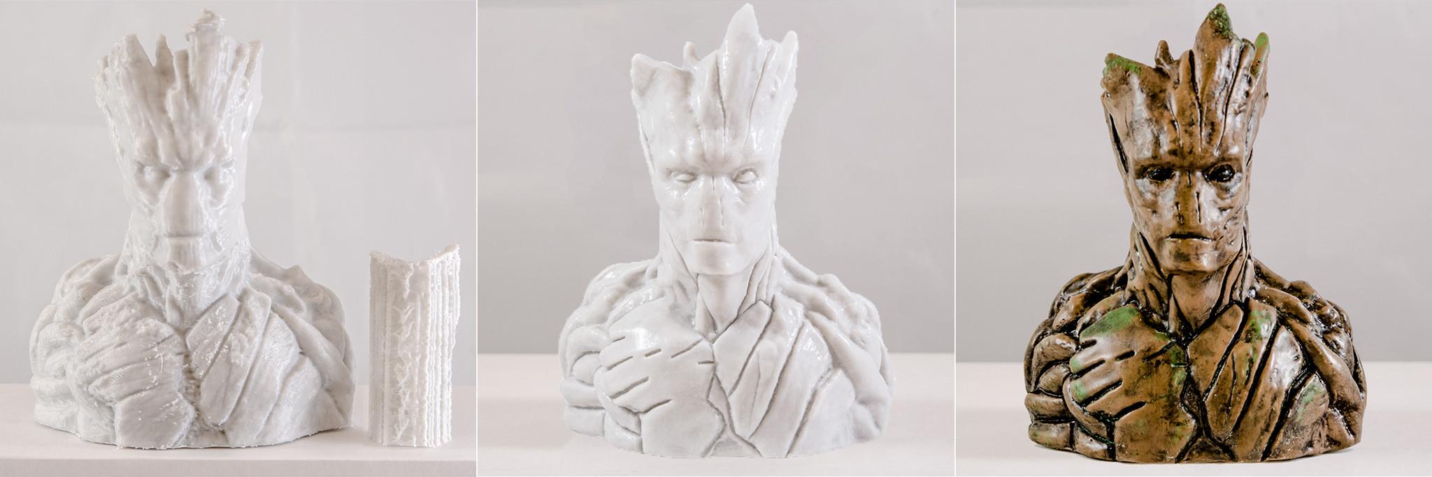 3Dプリント後に彫刻や肉盛りができるフィラメント『Thibra3D SKULPT』販売開始