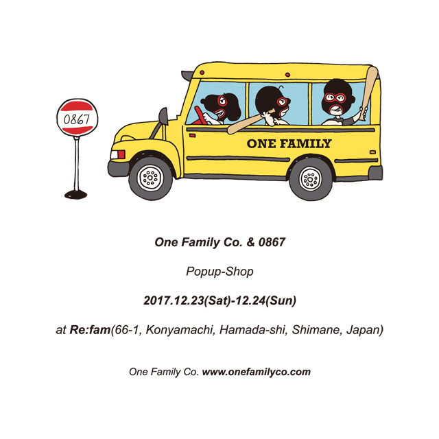 One Family Co. & 0867 Popup Shop @ Re:fam