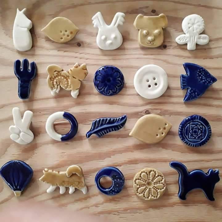 【参加者募集】陶芸家橋本尚美さんによるブローチ作り、金継ぎワークショップを開催します!