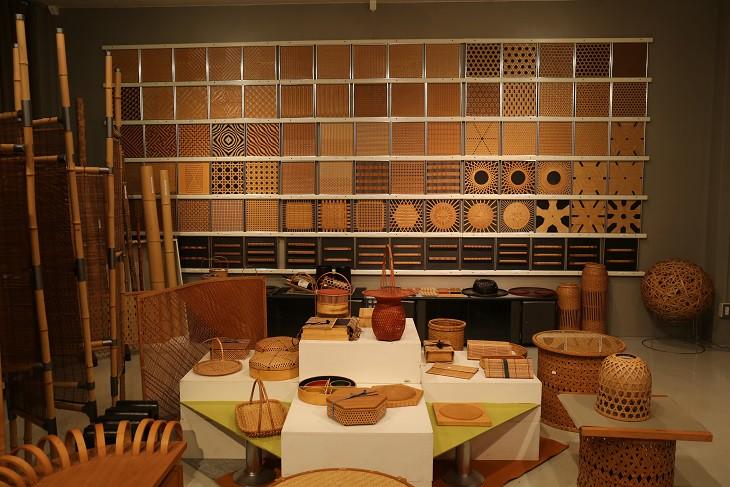 「別府竹細工」の技術の担い手を育む『大分県立竹工芸訓練センター』を見学させて頂きました。