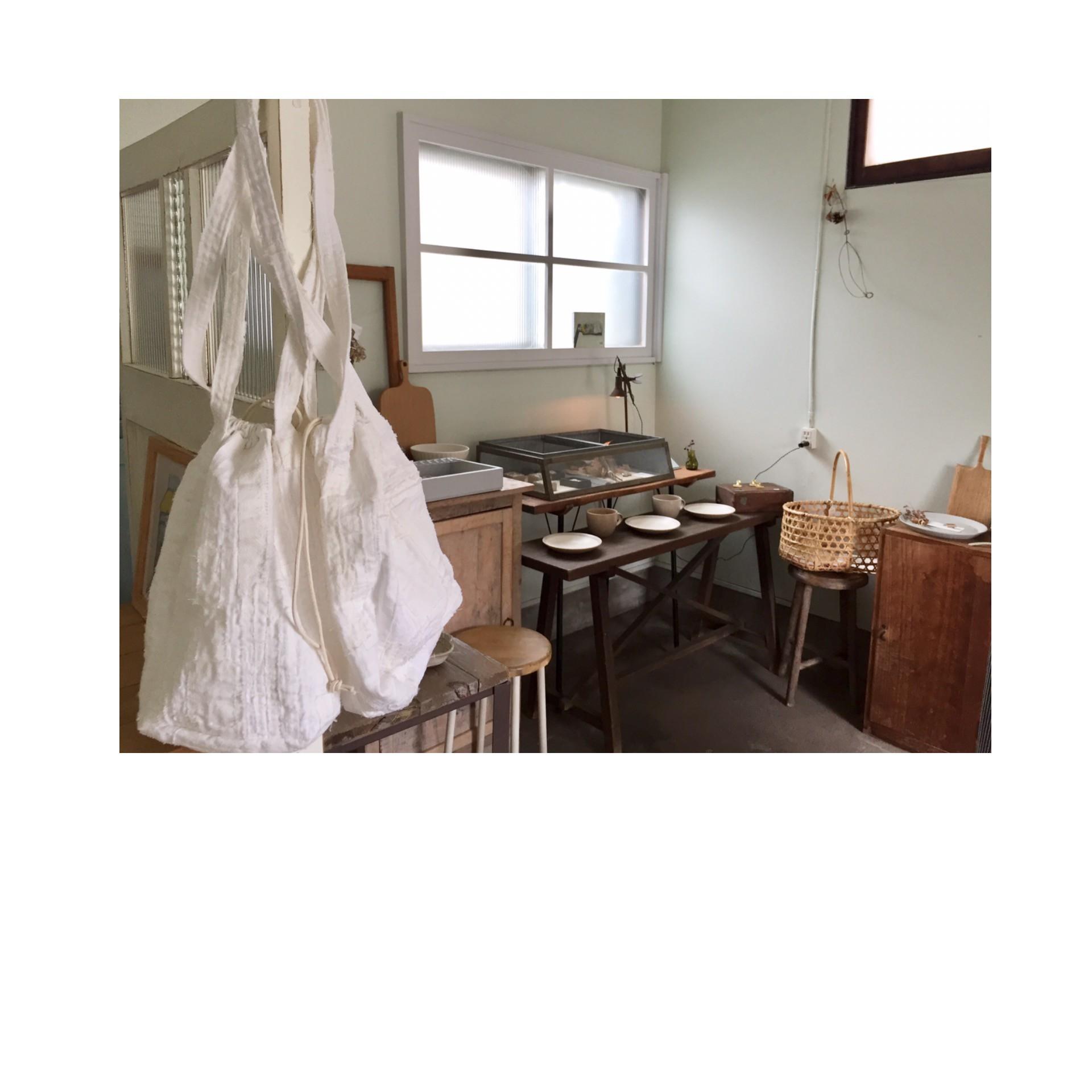 工藤由美さんの巾着バッグ