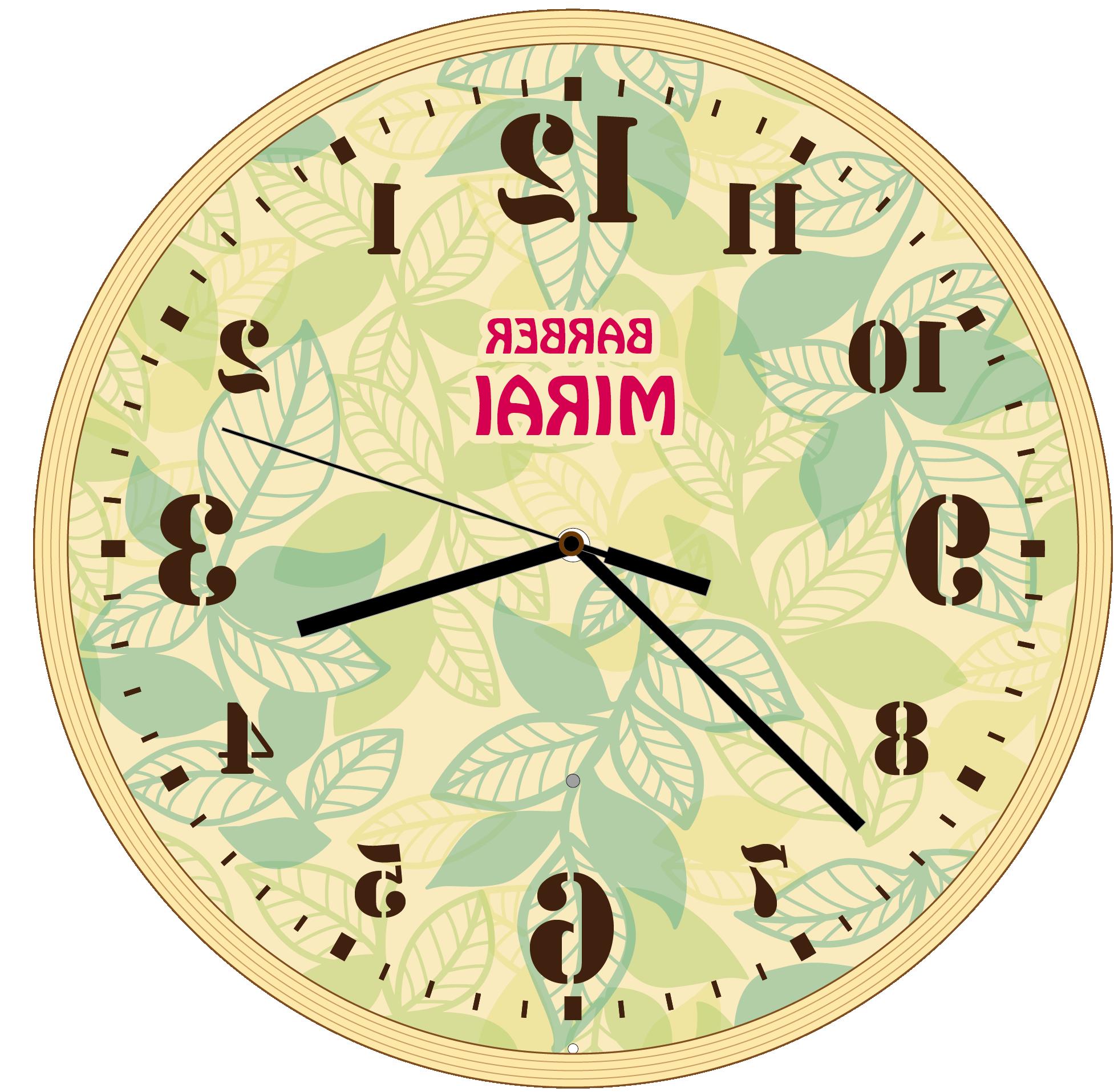 時計のデザイン例