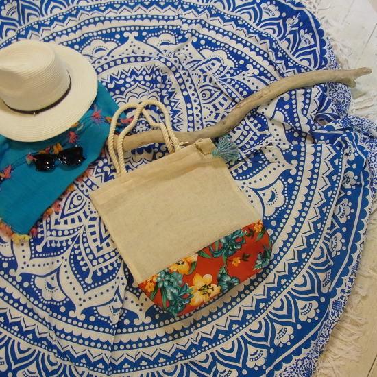 メキシコ・カンクンのビーチバッグコレクション