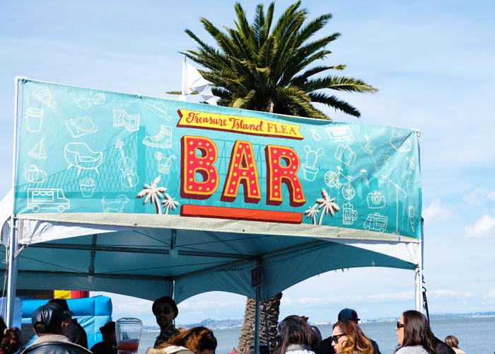 サンフランシスコ・島のマーケットフェスで宝探し