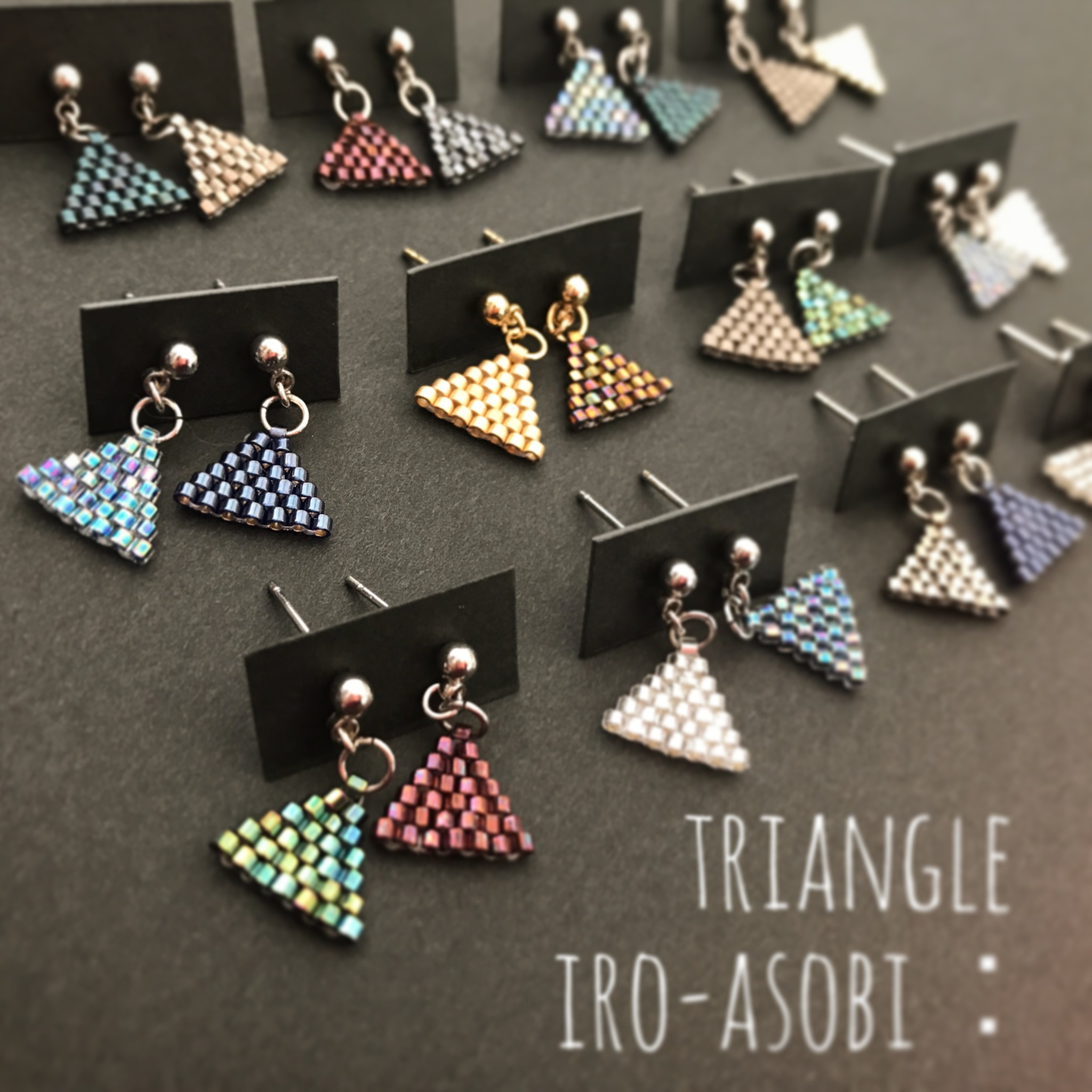 triangle iro-asobi:pierce & earring