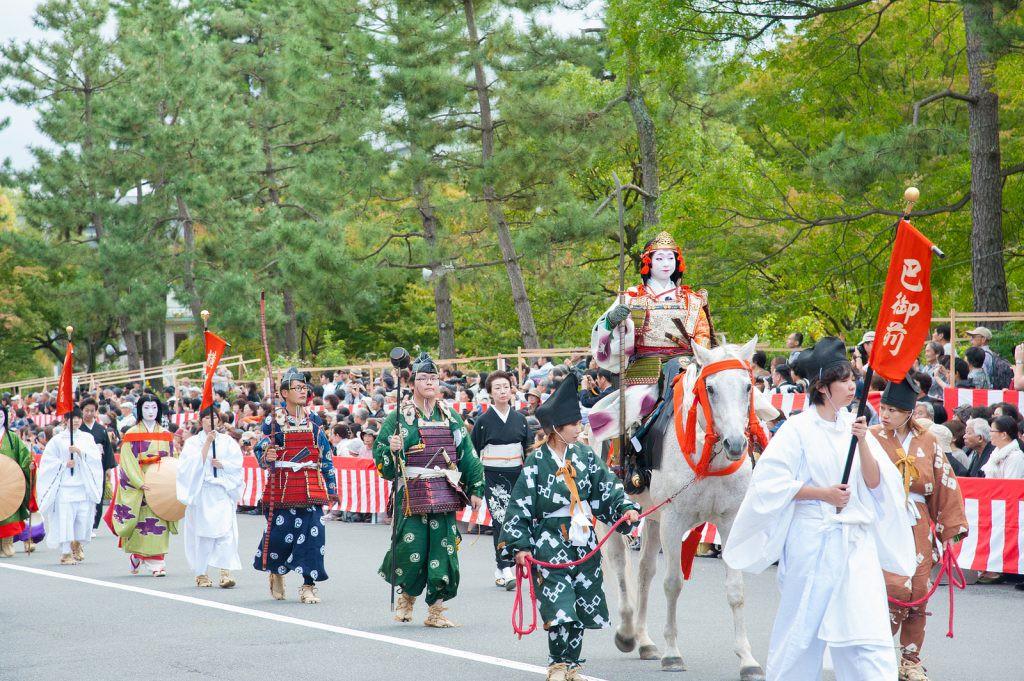 10月22日は時代祭そして鞍馬火祭!
