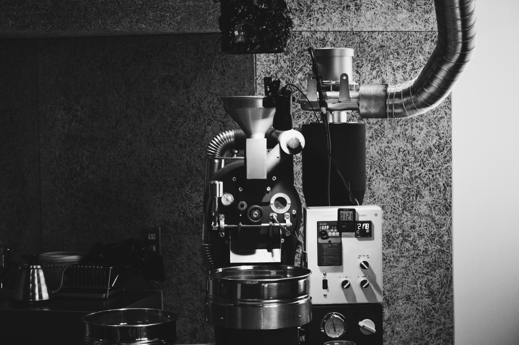 移転のこと_07:焙煎機移設