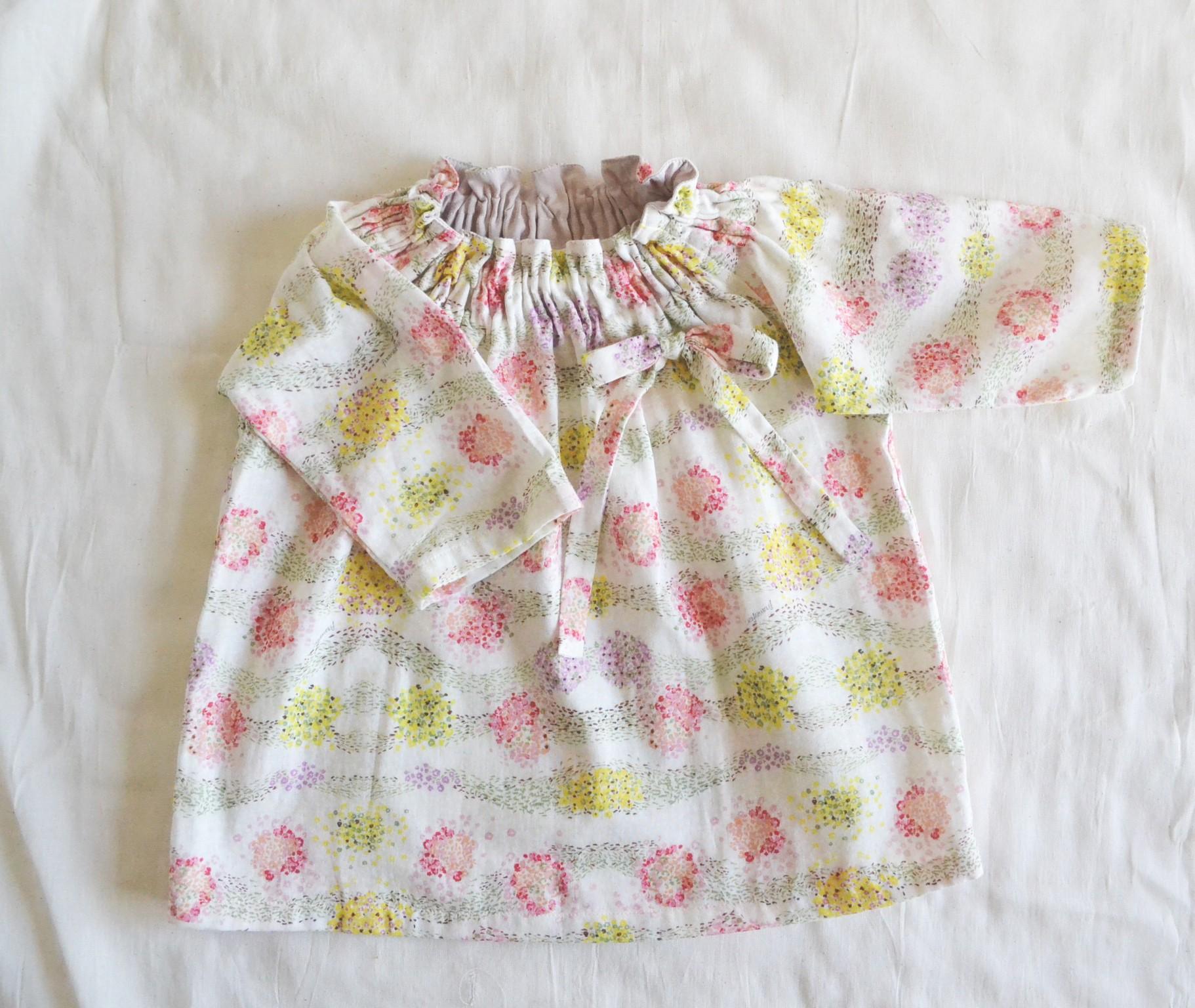 ダブルガーゼの子供服