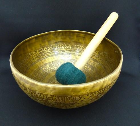 心と体を癒し、浄化し、整える 歌う器 チベットシンギングボウル