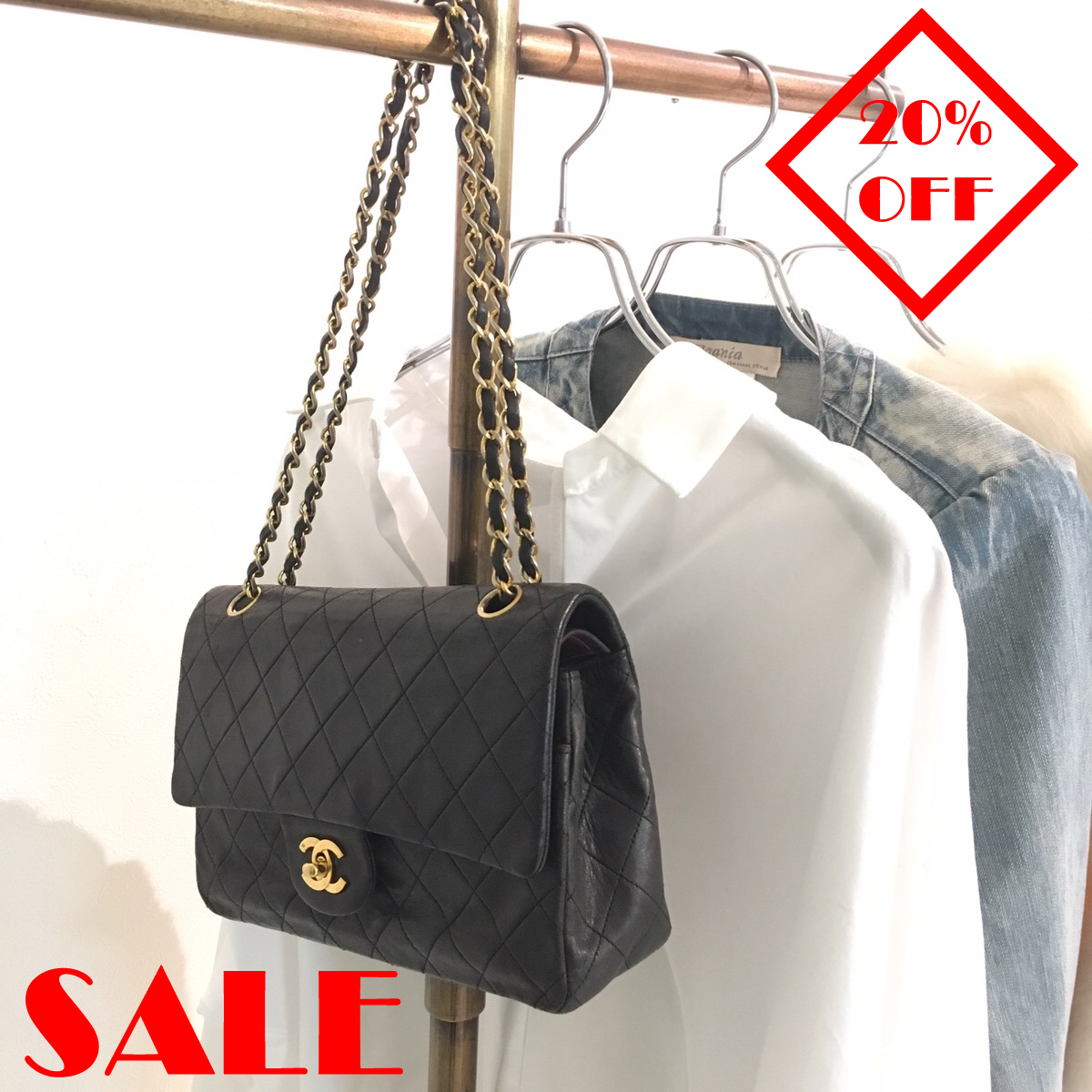 「 ALL ITEM 20%OFF SALE② 」