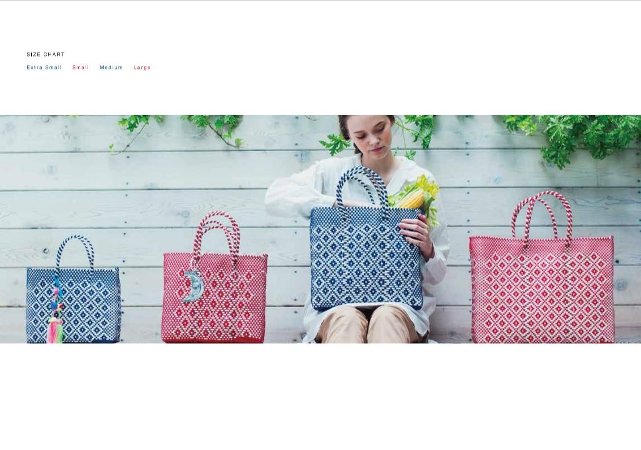 MERCADO BAGシリーズ Size一覧表