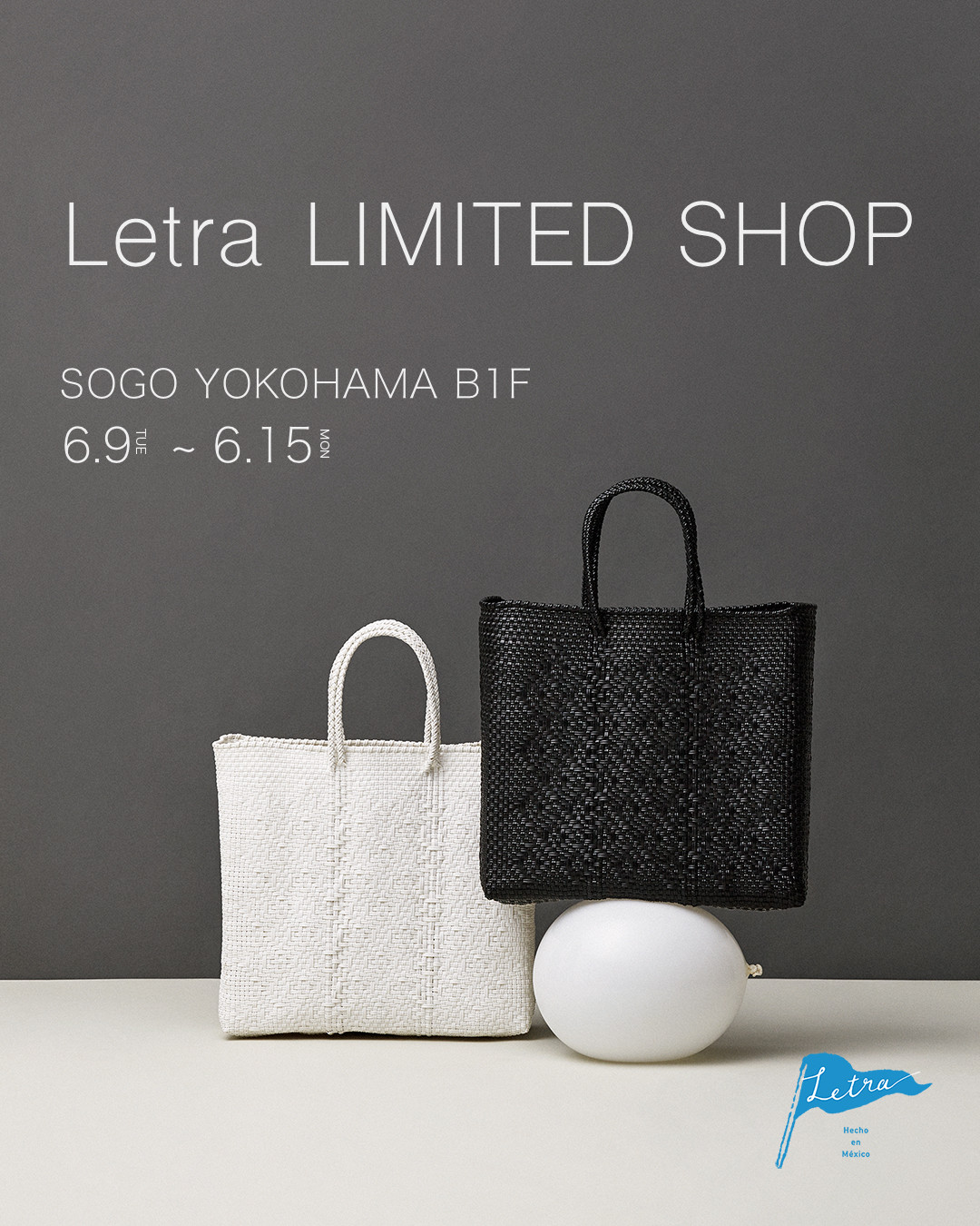 Letra Limited Shop そごう横浜 OPEN!