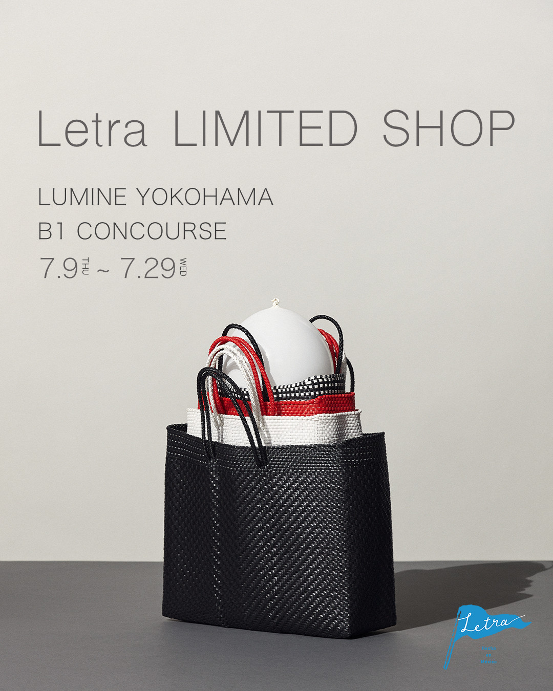 Letra Limited Shop ルミネ横浜 OPEN!